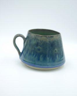 Ceramiczny Kubek 200 ml z Leśnym Szkliwieniem no.1