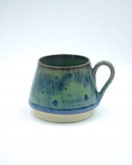 Ceramiczna Filiżanka 200 ml z Leśnym Szkliwieniem no.2
