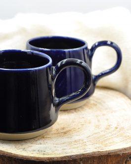 Kamionkowa Wiosenna Filiżanka na Kawę 250 ml Kobaltowa Przestrzeń