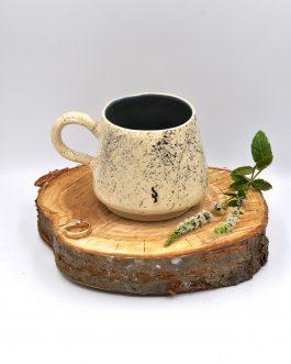 Kamionkowa Filiżanka na Kawę 250 ml Droga Mleczna (Zielony Mat)