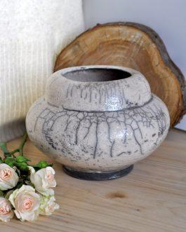 Ceramiczny Piaskowy Wazon Raku