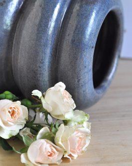 Ceramiczny Wrzosowy Wazon Raku