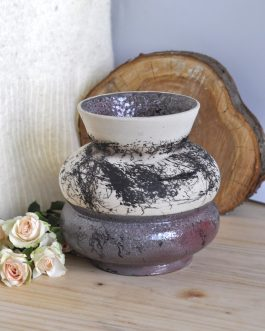 Ceramiczny Wazon Naked Raku